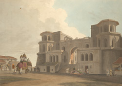 The Punj Mahalla Gate, Lucknow